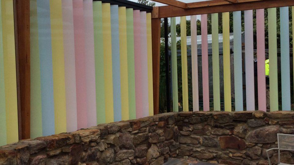 Sandy Bay- Colourful/ Sun Louvre System